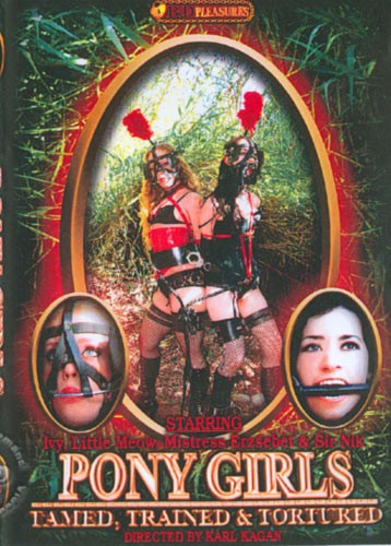 Pony Girls - Tamed Trained & Tortured [2006\DVDRip] cover