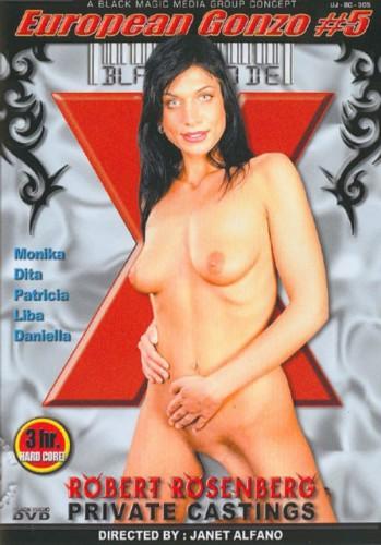 European Gonzo #5 Robert Rosenberg Private Castings cover