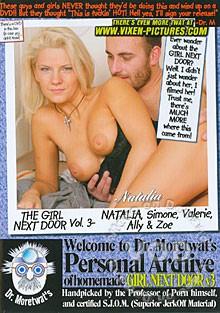 The girl next door vol3 cover