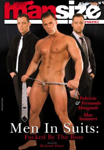 Private Mansize #14 - Men In Suits - Fucked By The Boss cover
