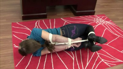 Elizabeth Andrews - Hogtied in Boots and Jeans