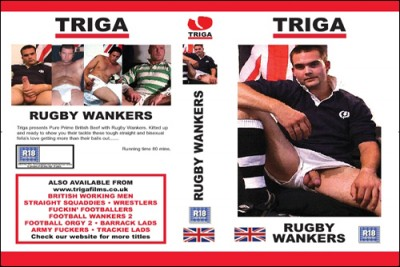 Rugby Wankers cover