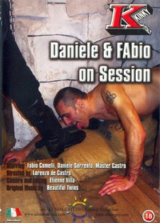 [All Male Studio] Daniele and Fabio on session Scene #4 cover