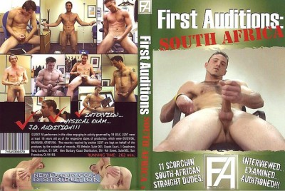 First Auditions South Africa cover