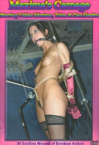 Dan Hawke - Maximas Carnage DVD cover