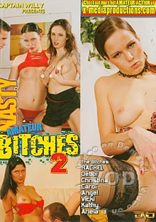Nasty Amateur Bitches vol 2 cover