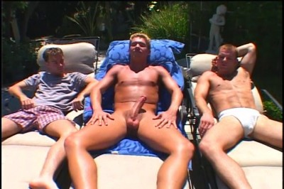 [Pacific Sun Entertainment] Two Big Cocked Guys Having Gay Sex In Outdoor