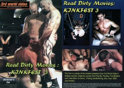 Real Dirty Movies: Kinkfest 3  ( apreder ) cover