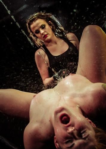 Pain Sex Slave Aryah May is Used & Wrecked by Mila Blaze & Brooklyn Daniels , Full HD 1080p