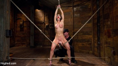 Serena Blair is Back in Extreme Bondage and Cumming Like a Whore