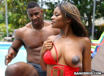 Lola Chanel - Ebony Lola Gets Stepbro Dick FullHD 1080p cover