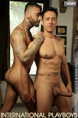 NakedSword - International Playboys 3 - Rikk York rides Rafael Alencar