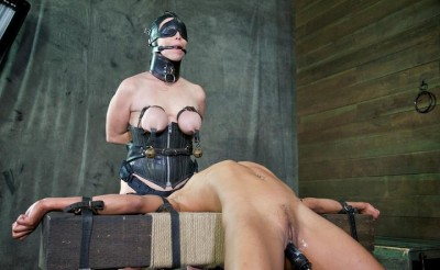 It is an incredible double penetration – both ends of this girl are pounded mercilessly