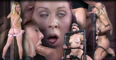 Stunning Cherie Turned Into Blowjob Device