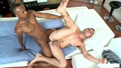 White boy gets big black dick (2014)