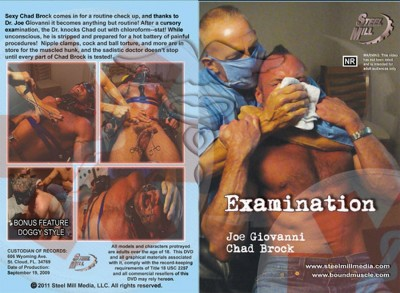 Examination (Jim Rhatt, Steel Mill Media) cover