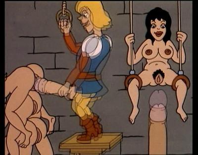 Erotische Zeichentrickparade