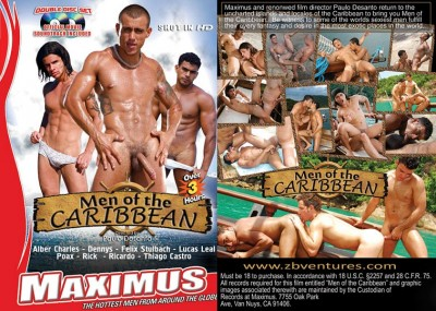 Men Of The Caribbean  ( Maximus Movies ) cover