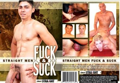 Straight Men Fuck and Suck cover