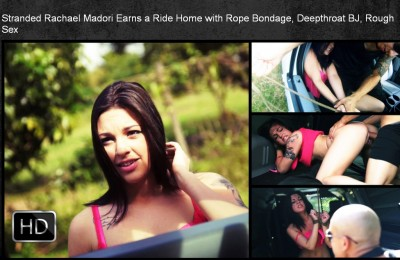 SexualDisgrace - Jan 23, 2015 - Stranded Rachael Madori Earns a Ride Home with Rope Bondage