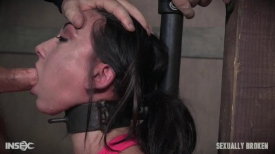 Mandy Muse and her amazing booty gets abused with cock, pussy and ass smothering! Face fuckings!