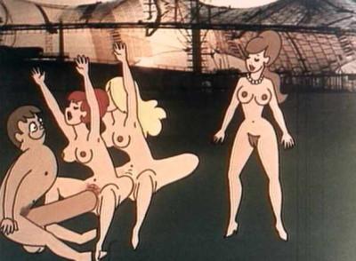Retro Cartoon-Sex cover