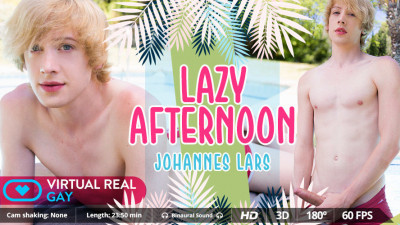 Virtual Real Gay - Johannes Lars - Lazy Afternoon cover