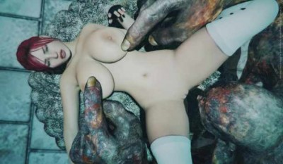 Sexy Velna Fuck With Gigant Monster
