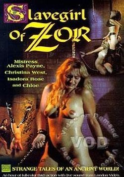 Slavegirl Of Zor cover