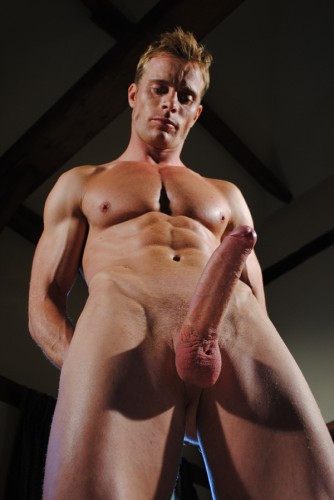 Neil Stevens solo – Ripped, Extra-Hung Str8 Uncut Stud! cover