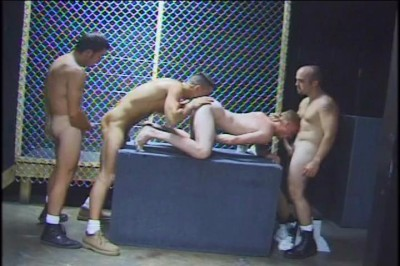 [Pacific Sun Entertainment] Four Horny Guys Suck And Bang Eachother Till They Squirt cover