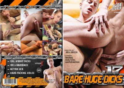 Bare Huge Dicks #17 (2012) DVDRip cover