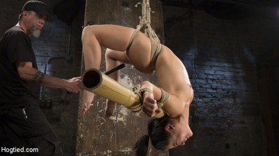 Feisty Latina is Captured in Grueling Bondage, Tormented, and Ass Fucked