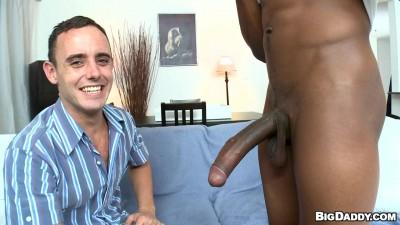 ItsGonnaHurt - White boy gets big black dick
