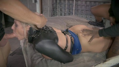 RTB - Blonde Milf bound and fucked doggystyle with epic deepthroat! - Oct 21, 2014 - HD