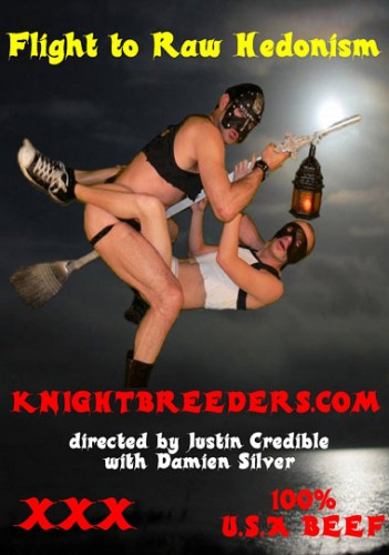 Flight to Raw Hedonism (Justin Credible, Knightbreeders) cover