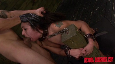 Isa Mendez Earns a Facial after Bondage Slave Training Session with Rough Sex and Deep Penetration