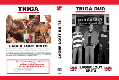 Triga - Lager Lout Brits cover