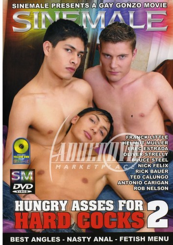 Hungry Asses For Hard Cocks 2 cover