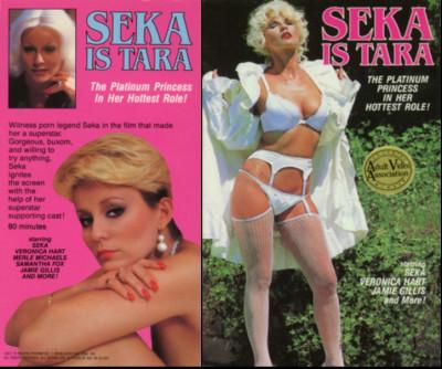 Seka is Tara (1981) - Seka, Veronica Hart, Samantha Fox cover
