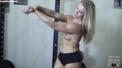 Claire - She's Nude. And You're Seeing Her From the Pov Of Her Muscle Worshiper cover