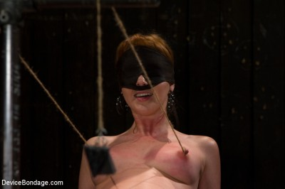 Red Hair Fair Skin - finger fucked, machine fucked, extreme nipple play, hot wax, hard caning. cover