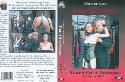 Tears of a Domme Volume 825 cover