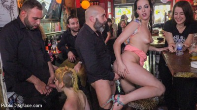 Spanish Bar turns into a Filthy Fuck Party! - Part 2