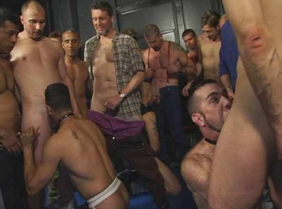 Hardcore Cum Orgy With Huge Cock