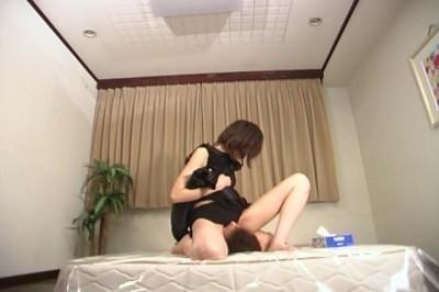 [Gut Jap] Gammen Kijou Onanie 02 Scene #3 cover
