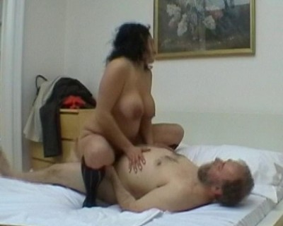 Fat slut fucked in a hotel