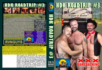 Hot Desert Knights - Barebacking USA: HDK Road Trip 3