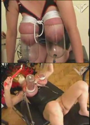 Hot! nipples tits slut suction udder soo