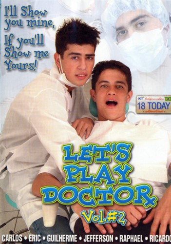 Lets Play Doctor Vol. 2 cover